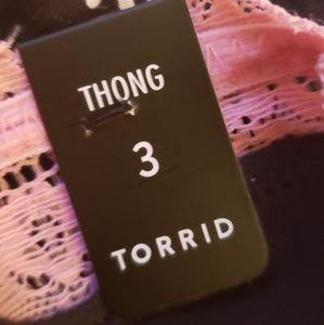 torrid Intimates & Sleepwear - NWT Torrid sz 3 daisy print thong
